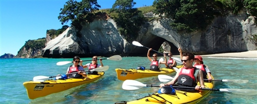 Cathedral Cove Classic Kayak Tour, Hahei Beach
