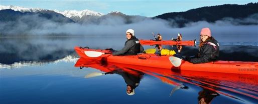 Kayak with Franz Josef Wilderness Tours