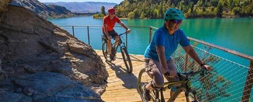 Lake Dunstan & the Otago Rail Trail